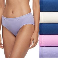 Fruit of the Loom 5-pack Breathable Cotton-Blend Hipster Panty 5DBCHPS