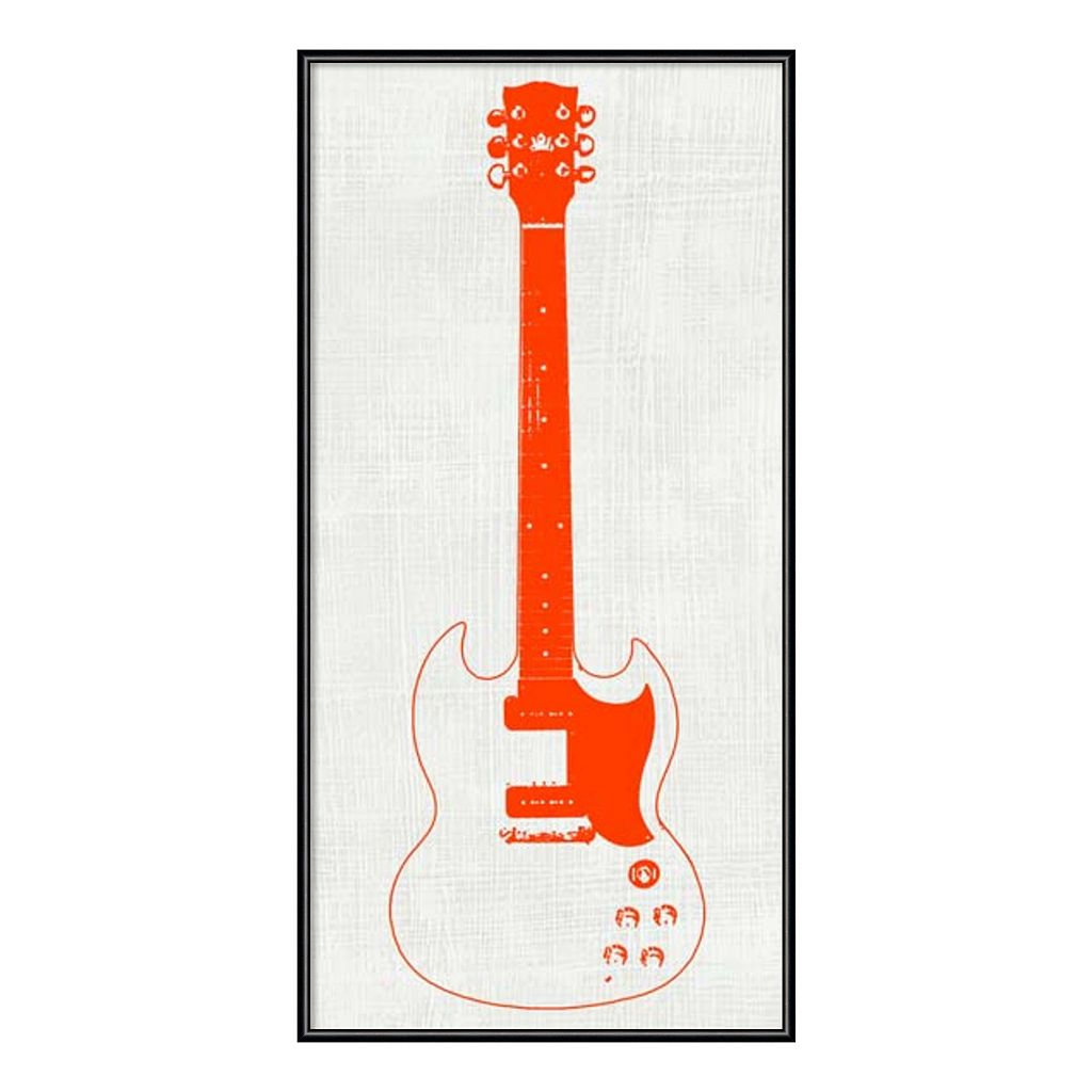 Amanti Art Guitar Collector III Framed Wall Art