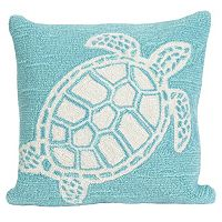 Trans Ocean Imports Liora Manne Turtle Indoor Outdoor Throw Pillow