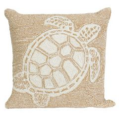 Trans Ocean Imports Liora Manne Turtle Indoor Outdoor Throw Pillow
