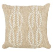 Trans Ocean Imports Liora Manne Ropes Indoor Outdoor Throw Pillow