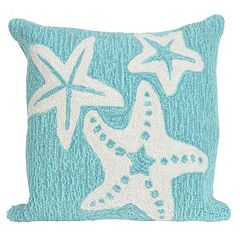 Trans Ocean Imports Liora Manne Starfish Indoor Outdoor Throw Pillow