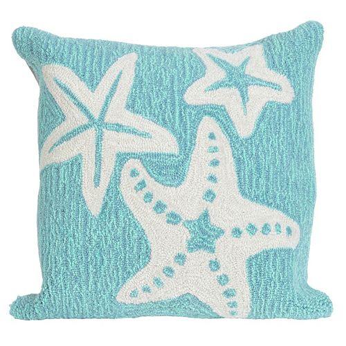 Trans Ocean Imports Liora Manne Starfish Indoor Outdoor Throw Pillow