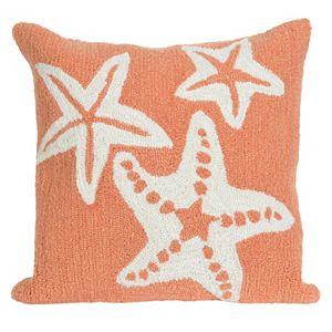 Trans Ocean Imports Liora Manne Starfish Indoor Outdoor Throw Pillow\n