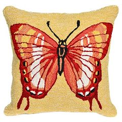 Trans Ocean Imports Liora Manne Butterfly Indoor Outdoor Throw Pillow