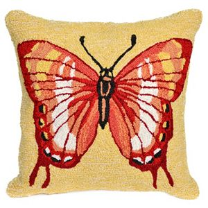 Trans Ocean Imports Liora Manne Butterfly Indoor Outdoor Throw Pillow\n