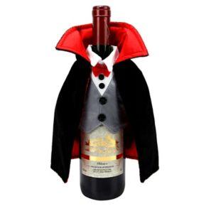 Celebrate Halloween Together Dracula Wine Cover