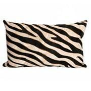 Trans Ocean Imports Liora Manne Zebra Indoor Outdoor Throw Pillow