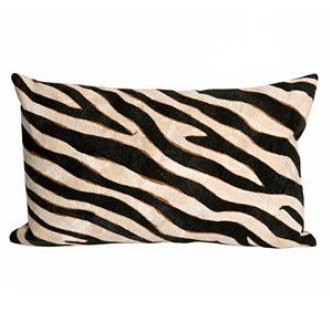 Trans Ocean Imports Liora Manne Zebra Indoor Outdoor Throw Pillow\n