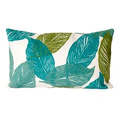 Trans Ocean Imports Liora Manne Mystic Leaf Indoor Outdoor Throw Pillow