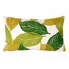 Trans Ocean Imports Liora Manne Mystic Leaf Indoor Outdoor Throw Pillow
