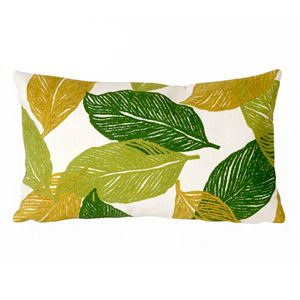 Trans Ocean Imports Liora Manne Mystic Leaf Indoor Outdoor Throw Pillow\n