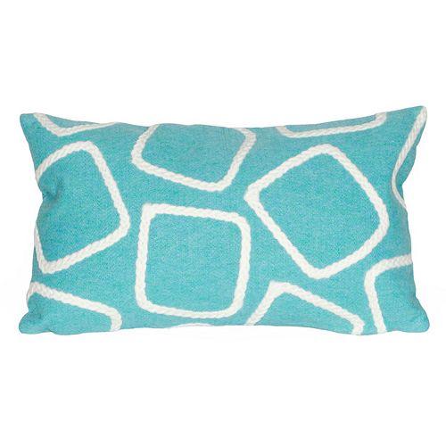 Trans Ocean Imports Liora Manne Squares Indoor Outdoor Throw Pillow
