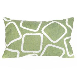 Trans Ocean Imports Liora Manne Squares Indoor Outdoor Throw Pillow\n