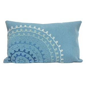 Trans Ocean Imports Liora Manne Ombre Threads Indoor Outdoor Throw Pillow\n