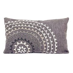 Trans Ocean Imports Liora Manne Ombre Threads Indoor Outdoor Throw Pillow
