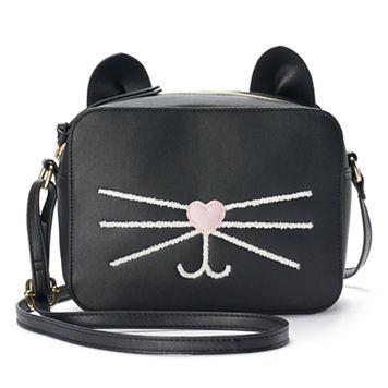 T-Shirt & Jeans Cat Whiskers Crossbody Bag