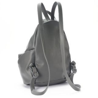 T-Shirt & Jeans Diagonal Zipper Backpack