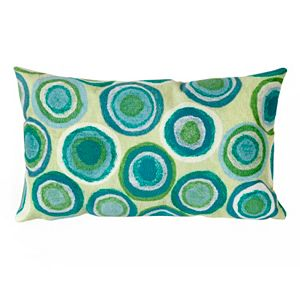 Trans Ocean Imports Liora Manne Puddle Dot Indoor Outdoor Throw Pillow\n