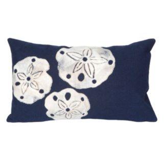 Trans Ocean Imports Liora Manne Sand Dollar Indoor Outdoor Throw Pillow