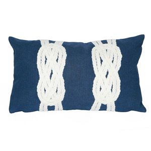 Trans Ocean Imports Liora Manne Double Knot Indoor Outdoor Throw Pillow\n