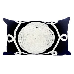 Trans Ocean Imports Liora Manne Ornamental Knot Indoor Outdoor Throw Pillow\n