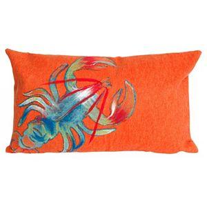 Trans Ocean Imports Liora Manne Lobster Indoor Outdoor Throw Pillow\n