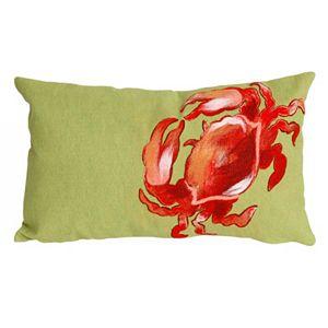 Trans Ocean Imports Liora Manne Crab Indoor Outdoor Throw Pillow\n