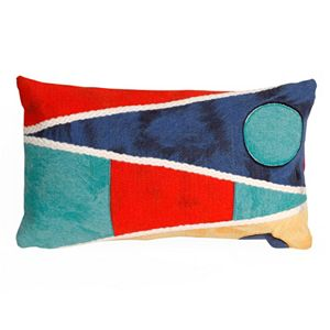 Trans Ocean Imports Liora Manne Flags Indoor Outdoor Throw Pillow\n