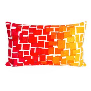 Trans Ocean Imports Liora Manne Ombre Tile Indoor Outdoor Throw Pillow\n