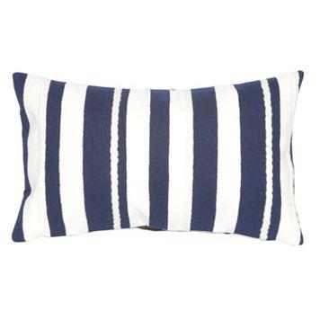 Trans Ocean Imports Liora Manne Marina Stripe Indoor Outdoor Throw Pillow