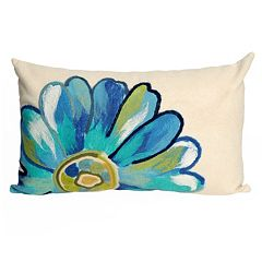 Trans Ocean Imports Liora Manne Daisy Indoor Outdoor Throw Pillow