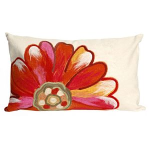 Trans Ocean Imports Liora Manne Daisy Indoor Outdoor Throw Pillow\n