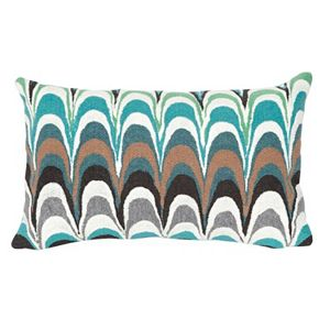 Trans Ocean Imports Liora Manne Floating Ink Indoor Outdoor Throw Pillow\n