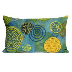 Trans Ocean Imports Liora Manne Graffiti Swirl Indoor Outdoor Throw Pillow