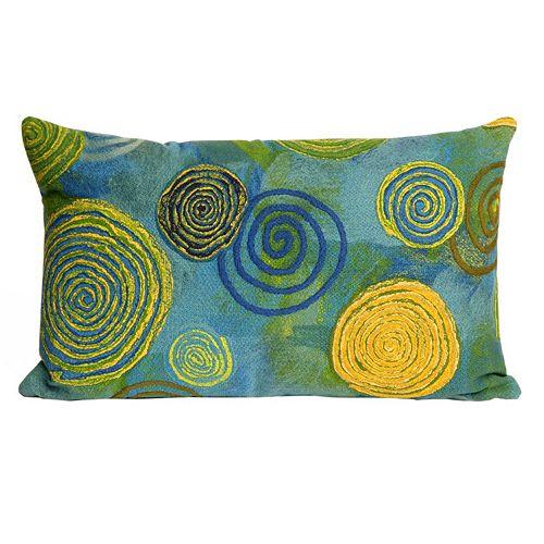 Trans Ocean Imports Liora Manne Graffiti Swirl Indoor Outdoor Throw Pillow