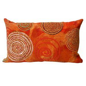 Trans Ocean Imports Liora Manne Graffiti Swirl Indoor Outdoor Throw Pillow\n
