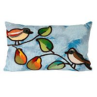 Trans Ocean Imports Liora Manne Song Birds Indoor Outdoor Throw Pillow