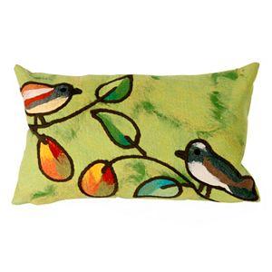 Trans Ocean Imports Liora Manne Song Birds Indoor Outdoor Throw Pillow\n