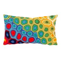 Trans Ocean Imports Liora Manne Pop Swirl Indoor Outdoor Throw Pillow