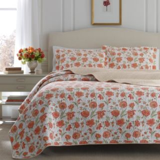 Laura Ashley Lifestyles Cadence Quilt Set