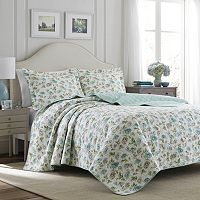 Laura Ashley Lifestyles Edwina Quilt Set