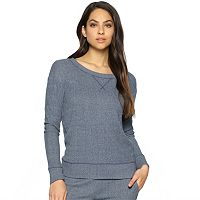 Women's Jezebel Pajamas: Glenda Long Sleeve Crewneck Top