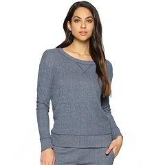 Women's Jezebel Pajamas: Glenda Long Sleeve Crewneck Top