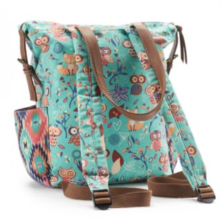 Unionbay Owl Convertible Backpack Tote
