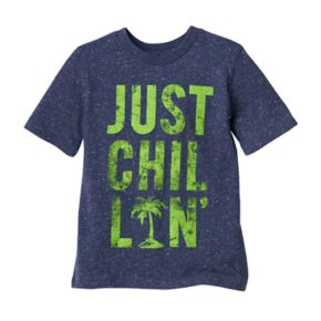 """Boys 4-10 Jumping Beans® """"Just Chillin"""" Palm Tree Graphic Tee"""