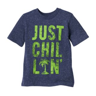 "Boys 4-10 Jumping Beans® ""Just Chillin"" Palm Tree Graphic Tee"
