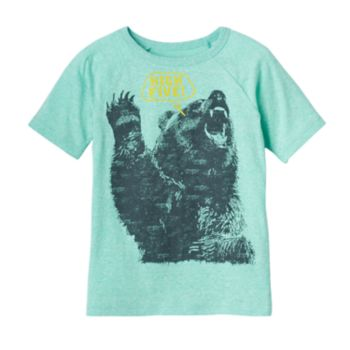 "Boys 4-10 Jumping Beans® Bear ""High Five"" Graphic Tee"