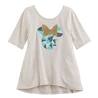 Disney's Minnie Mouse Girls 4-10 Long-Sleeve Geometric Tunic by Jumping Beans®