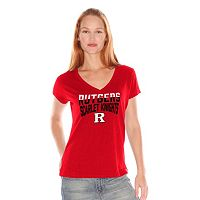 Women's Rutgers Scarlet Knights Fair Catch Tee